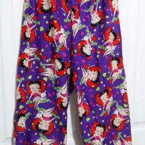 Betty Boop Pajama Bottoms Made to Order